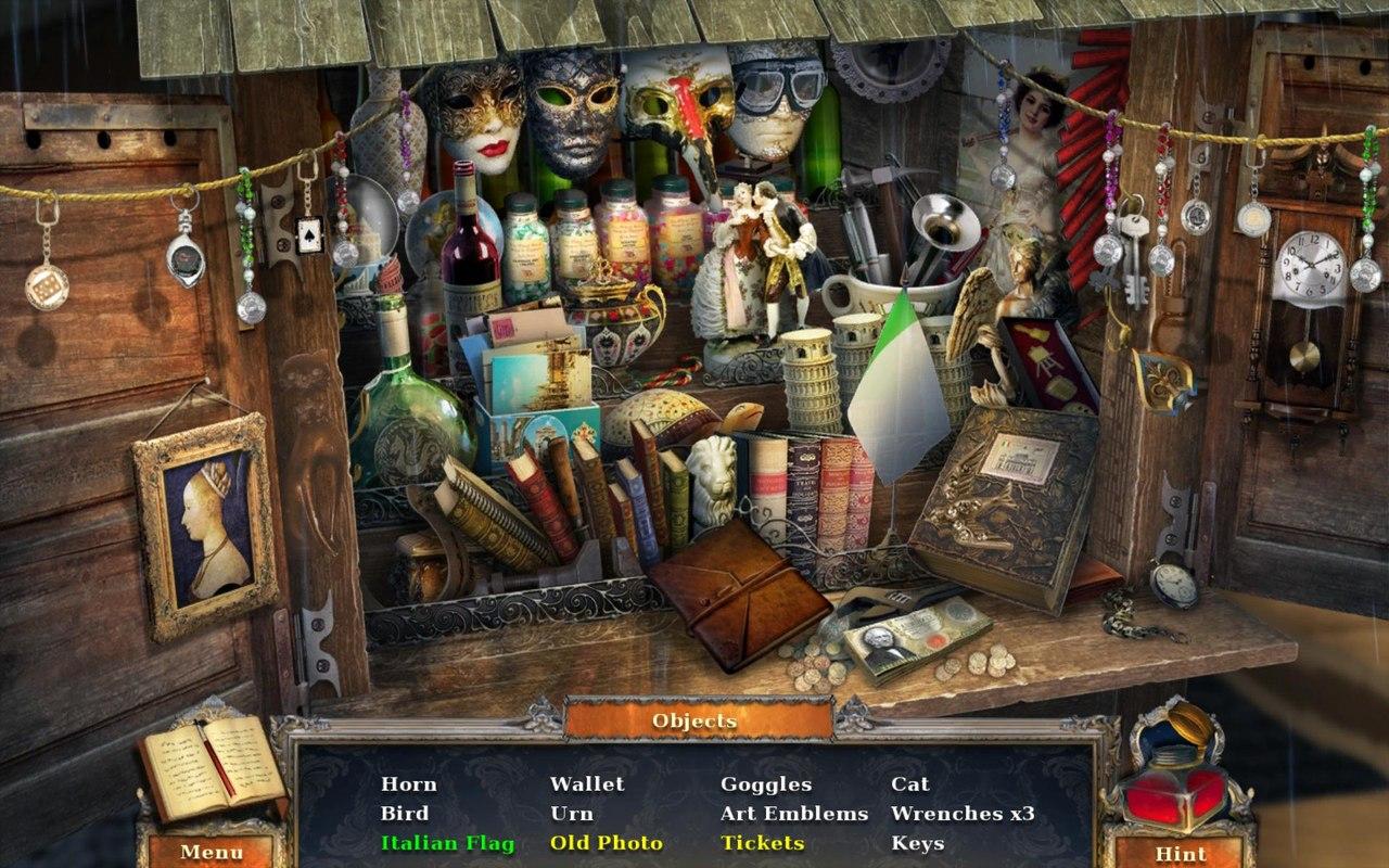 Игры Поиск предметов онлайн
